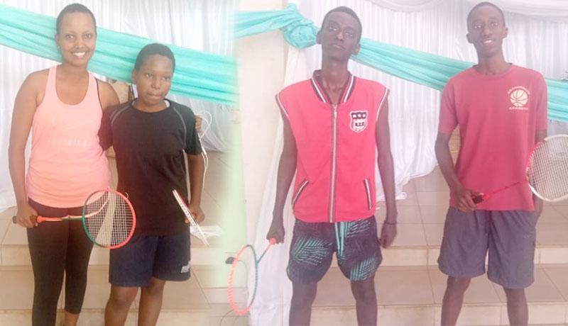 Championnats d'Afrique de Badminton : quatre badistes vont représenter le Burundi