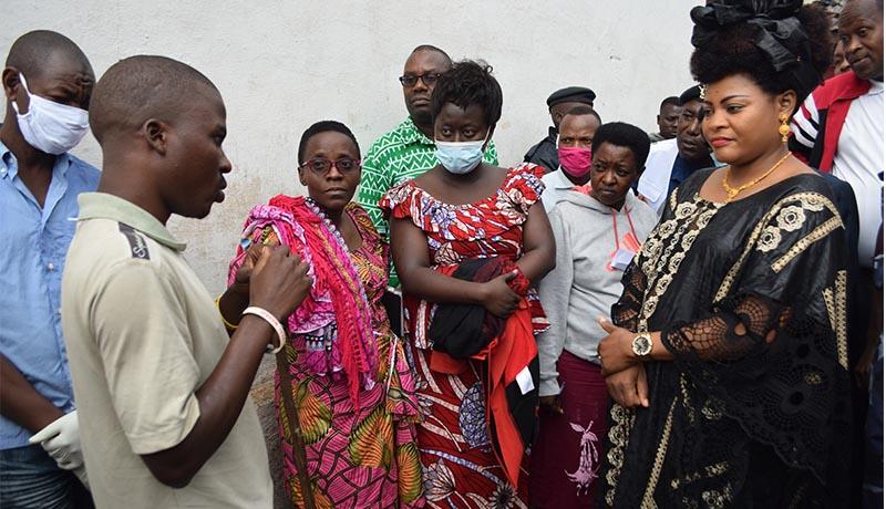 Incendie à la prison de Gitega: le ministre de la Justice au secours des sinistrés