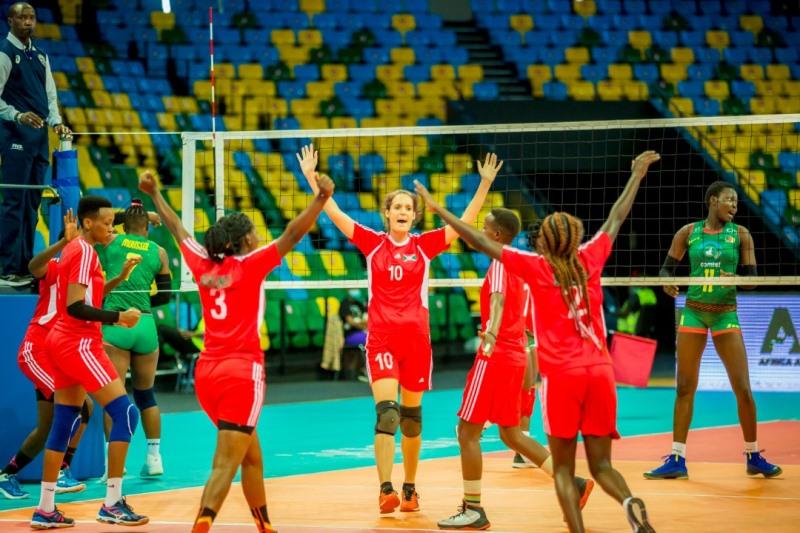 La séléction nationale féminine de Volleyball quitte enfin l'Aéroport international Melchior Ndadaye