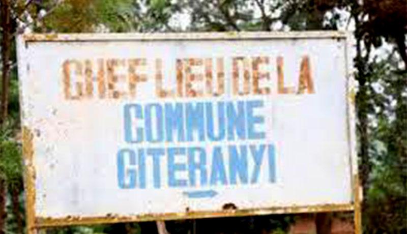 Sécurité/Muyinga : une personne tuée, deux autres blessées par un militaire