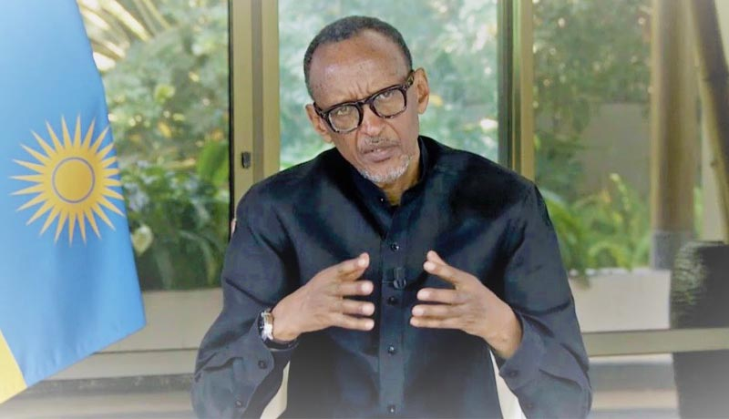 Paul Kagame : ''La situation avec le Burundi s'améliore''