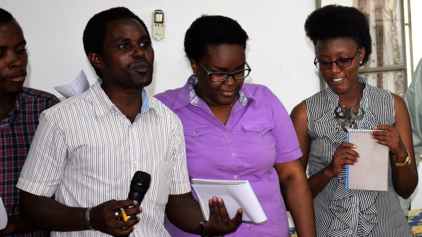 Le reporter Aimé-Richard Niyonkuru de Bonesha FM arrêté ce matin puis liberé vers midi