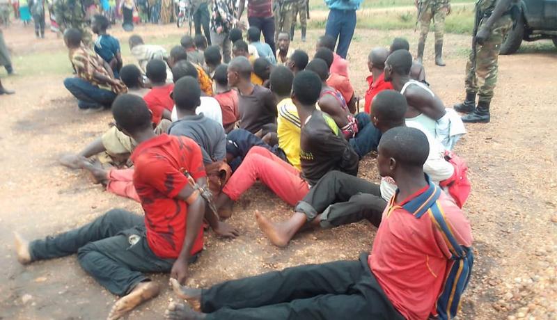 Burundi-RDC : 37 jeunes burundais arrêtés à Sange en territoire d'Uvira