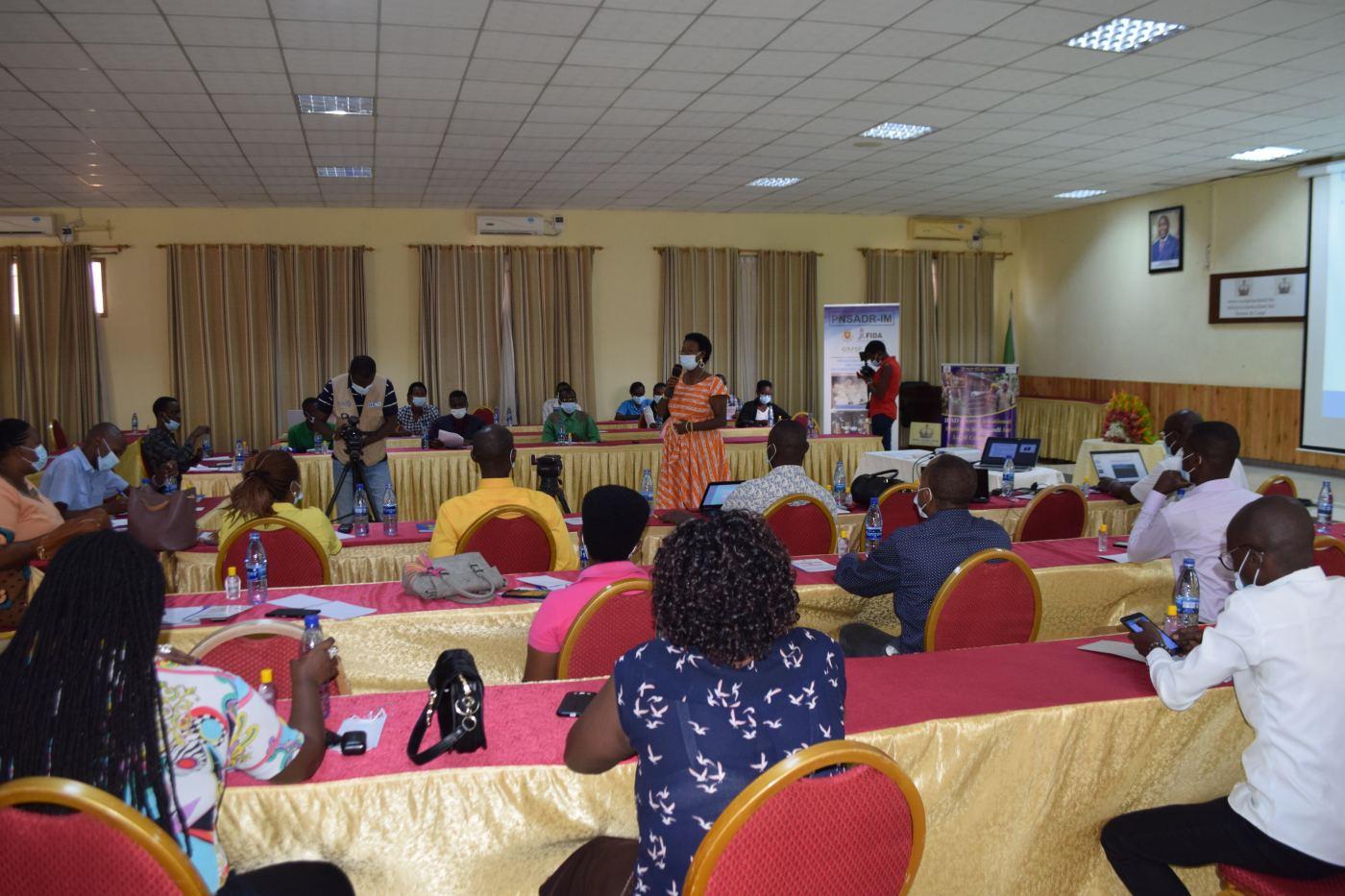 Covid-19 : Les projets financés par le FIDA au Burundi engagés dans le renforcement de la résilience des populations rurales