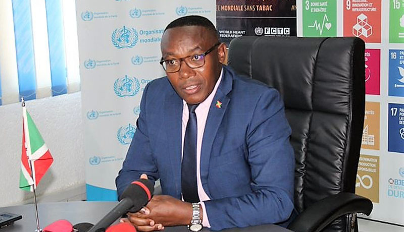 Burundi/Covid-19 : Un certificat de dépistage sera bientôt obligatoire pour tout voyageur