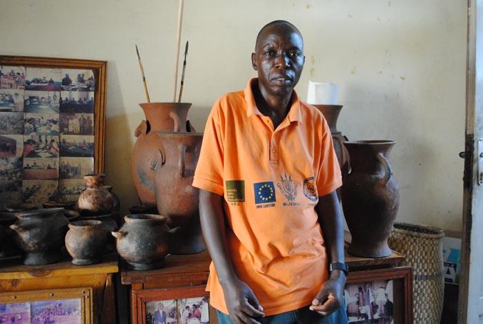 Etienne Ndayishimiye, de l'Uniproba ©Iwacu