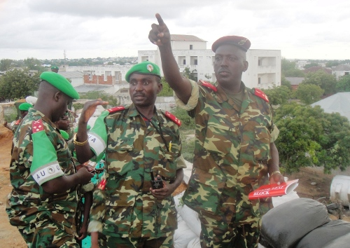 Le Général de Brigade Athanase Kararuza en mission en Somalie ©Iwacu