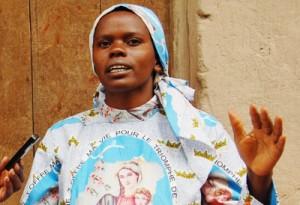 Le SNR semblait être à la recherche d'Eusébie Ngendakumana, dit Zebiya ©Iwacu