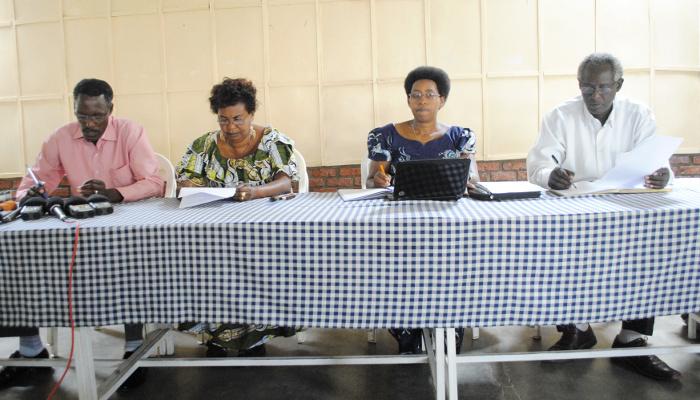 Lors de la conférence de presse animée conjointement ce mardi 14 janvier, à Bujumbura ©Iwacu