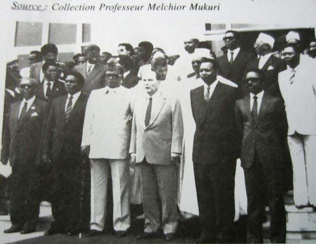 Photo des Chefs d'Etat au Sommet