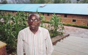 Venant Nzirubusa, jeune de ce centre ©Iwacu