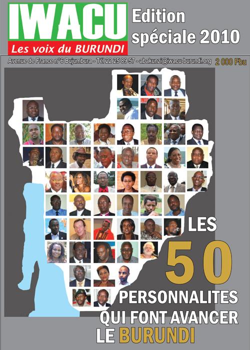 IWACU Editon spéciale 2010